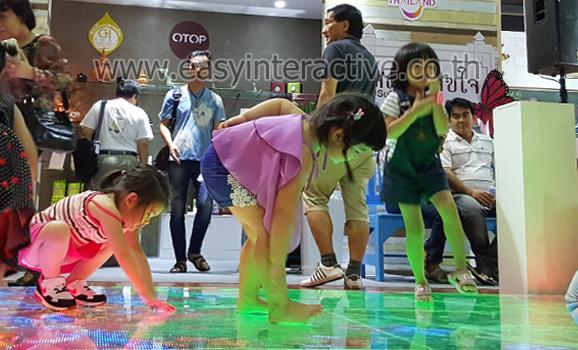 อินเตอร์แอคทีฟ led floor การท่องเที่ยวแห่งประเทศไทย