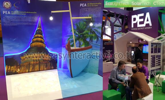 ให้เช่าอินเตอร์แอคทีฟFloor PEA EcoLightTech SolarTech CTech