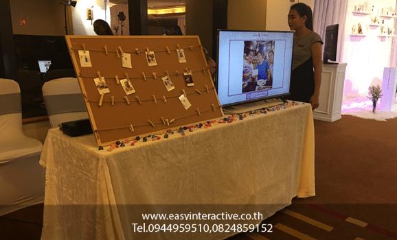 ให้เช่าปริ้นรูปจากinstagram งานแต่ง LTTHEWEDDING AVANI Atrium Bangkok
