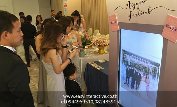 ให้เช่าปริ้นรูปจากinstagram งานแต่ง SomoAofwedding โรงแรม Avana บางนา