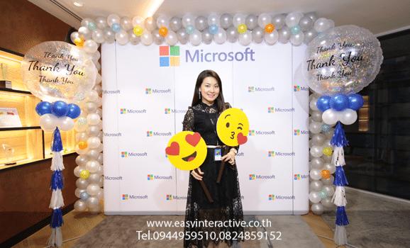 ให้เช่า ถ่ายรูปด่วนปริ้นหน้างาน งาน Microsoft (Thailand) .