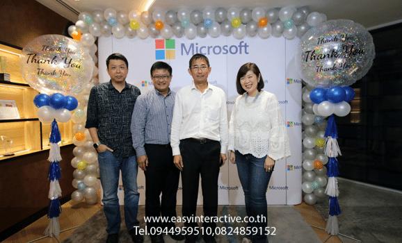 ให้เช่า ถ่ายรูปด่วนปริ้นหน้างาน งาน Microsoft (Thailand)