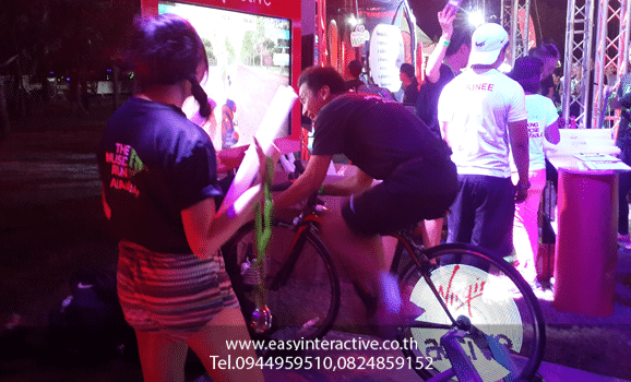 ให้เช่าเกมส์ จักยาน งาน Virgin Active สวนหลวง ร.9