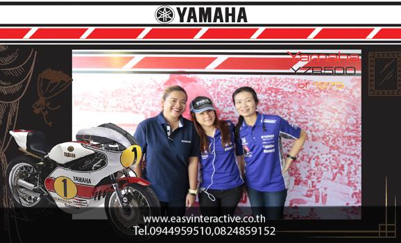 ให้เช่าphotobooth งาน YAMAHA The Bira International Circuit (Pattaya.