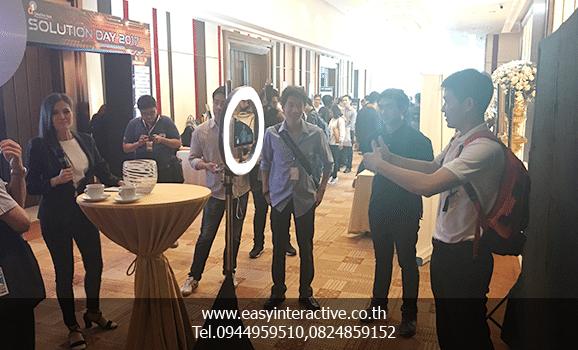 ให้เช่าphotobooth-ไฟวงแหวน-3แอค-D1 solution day 2017 Eastin Grand Hotel Sathorn