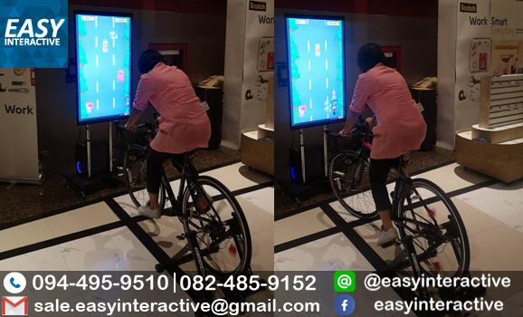 ให้เช่าอินเตอร์แอคทีฟจักรยาน บูท3M